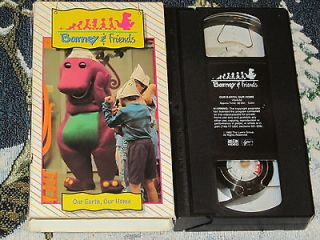 ~OUR EARTH, OUR HOME~TIME LIFE VHS VIDEO VOL #2 LEARN RECYCLING