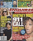 WHITNEY HOUSTONS DEATH PHOTO CASKET New National Enquirer 3 5 2012