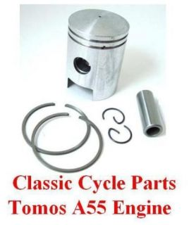Tomos Revival Streetmate Arrow A55 Piston Kit Rings STD