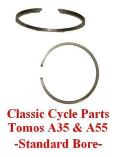 Tomos Revival Streetmate Arrow A55 A 55 Ring Set Rings