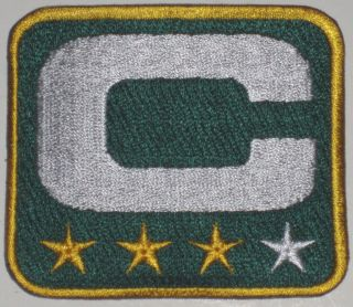 Patch 3 Star Packers Lambeau/ Aaron Rodgers/Green Bay Packers./Jets