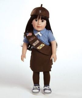 Forever Friends Girl Scout Brownie 18 Abigail Play Doll & Outfit