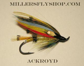Ackroyd Full Dress #6 Atlantic Salmon / Steelhead Flies