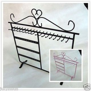 Multipurpose Earring Necklace Bracelet Jewelry Holder Display Stand
