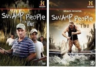 Newly listed New! Swamp People DVD First 1st Second 2nd Season 1 One