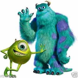 Walt Disneys Pixar MONSTERS Inc.   Mike & Sulley WindoCling Decal