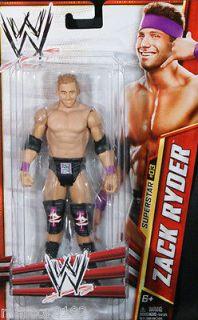 WWE Superstar ZACK RYDER Wrestling Action Figure NEW #03