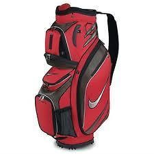 2011 Nike M9 Golf Cart Bag Brand New Red $159 Retail Great Divider