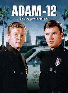 ADAM 12 SEASON 3 New 4 DVD Set Adam 12