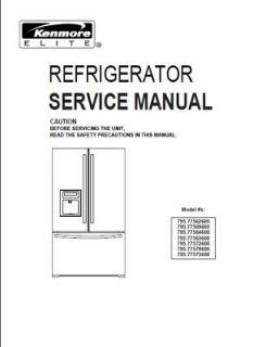 kenmore dishwasher 665 repair manual
