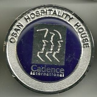 RARE United States Air Force Osan Hospitality House Challenge Coin
