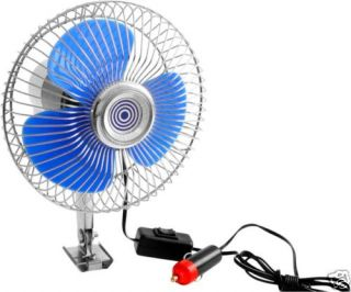 12 VOLT 12V POWERED AUTO VEHICLE CAR COOLING AIR FAN