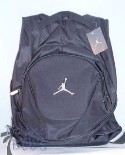 NIKE AIR JORDAN JUMPMAN Black School Gym Backpack  Laptop Book Bag