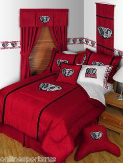 Alabama Crimson Tide Comforter Microsuede