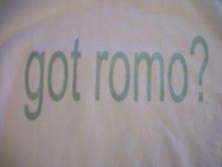 TONY ROMO DALLAS COWBOYS GOT ROMO PINK HOODIE HOODED ST