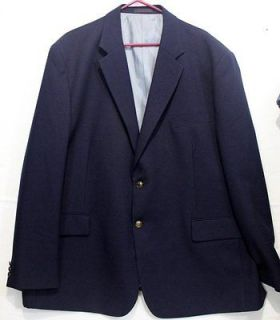 IRVINE PARK ~ Size 52 2 MENS Navy Blue Suit Jacket Blazer Sports Coat