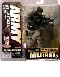 McFarlane Toys MILITARY Series 4 Army Special Forces Op Variant Action