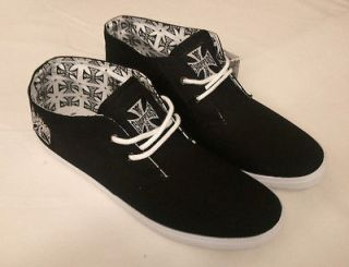 WEST COAST CHOPPERS BLACK CALIFA SHOES BRAND NEW