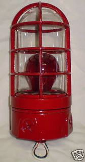 Newly listed GAMEWELL FIRE ALARM BOX CAGED LIGHT