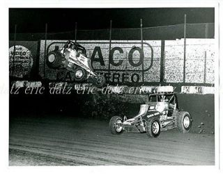 1980 Photo~USAC/CRA Sprint Car, dirt track racing, Bubby Jones