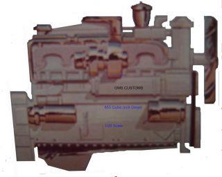 Cummins NTA 370 Turbo Charged Diesel Truck ENGINE 125