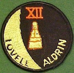 NASA Gemini XII Lovell   Aldrin Mission Patch