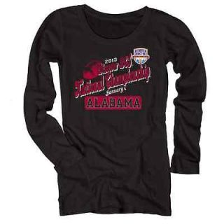 Alabama Ladies 2013 BCS National Championship Marquee Long Sleeve T