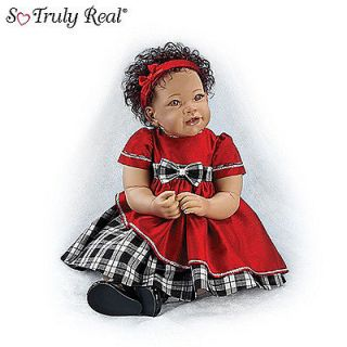 ASHTON DRAKE SO TRULY REAL BRIANNE 21 BABY DOLL NEW