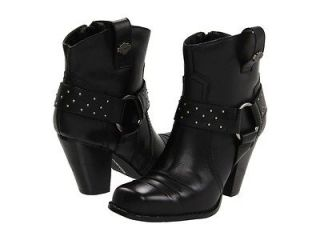 HARLEY DAVIDSON SULTRY WOMENS ANKLE BOOT SHOES + SIZES