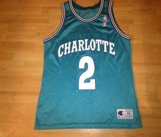 NBA Jersey NBA Champion Jersey Larry Johnson Charlotte Hornets Jersey