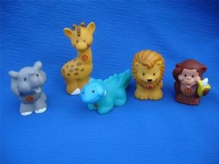 PICK 1 Fisher Price LITTLE PEOPLE ANIMALS Alphabet ZOO ABC Figures