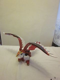 Power Rangers Deluxe Wild Force Isis Megazord Red Falcon