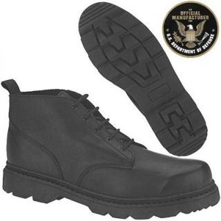 ALTAMA Black 6 inch All Terrain BOOTS Leather Sizes from 5 to 14 Reg