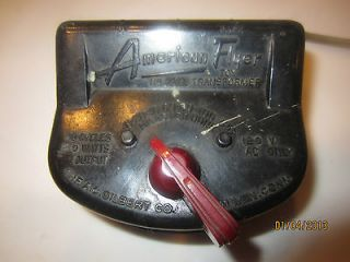 AMERICAN FLYER.VINTAGE 50s TRAIN RAILRAOD TRANSFORMER.22020,50 WATTS