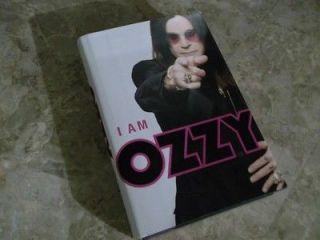 AM OZZY Osbourne Auto Biography Black Sabbath (hardcover $26.99