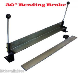 SHEET METAL BENDER 30 ALUMINUM BENDING BRAKE SHEET METAL BENDER