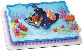 Disney Finding Nemo & Squirt Cake Decoration Kit Topper NEW