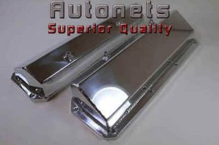 SBF Polished Aluminum Ford Valve Covers 351C 351M 400M BOSS 302 351