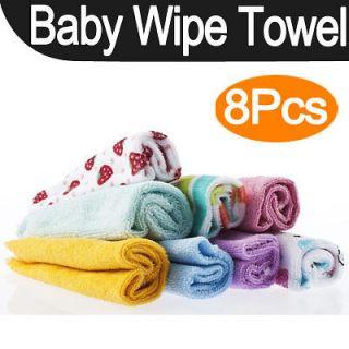 Pcs Baby Infant Newborn Bath Towel Washcloth Bathing Feeding Wipe