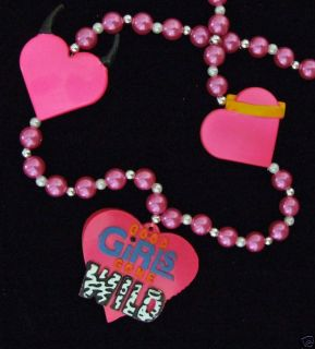GOOD GIRLS GONE WILD MARDI GRAS COSTUME HEART HORNS