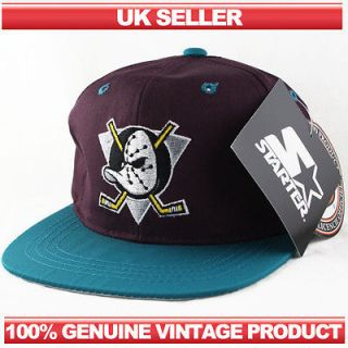 Anaheim Mighty Ducks STARTER Youth Vintage Snapback Hat Cap LAST FEW