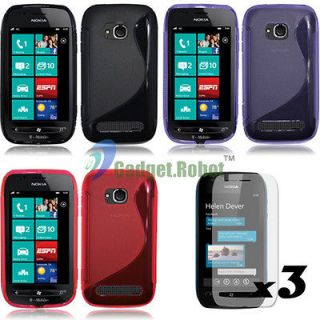 Newly listed 3 COVER GEL TPU CASE+SCREEN PROTCTOR for. T MOBILE Nokia