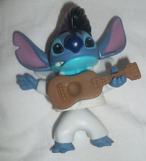 McDonalds Disney Lilo Stitch Elvis Impersonator Cake Topper Toy Figure