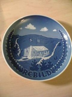 VINTAGE BING & GRONDAHL COLLECTIBLE WALL REBILD PLATE
