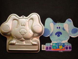 Wilton BIG BLUES CLUES cake pan PUP PUPPY DOG 2003 mold tin INSERT