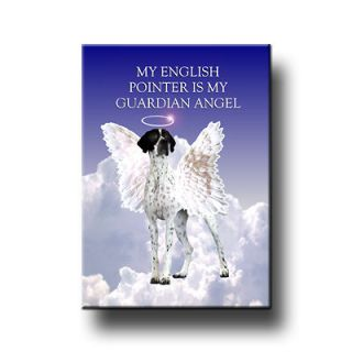 ENGLISH POINTER Guardian Angel FRIDGE MAGNET New DOG