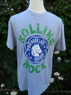 Rolling Rock Premium Beer t shirt Mens size M, L New
