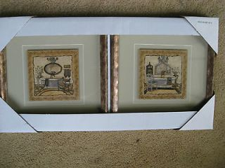 Newly listed New Set of 2 Animal print bathroom pictures