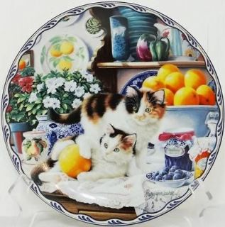 Warm Country Moments   EMILY & ALICE IN A JAM   Mary Ann Lasher Plate