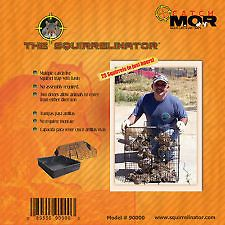 NEW! SQUIRRELINATOR SQUIRREL TRAP COMES COMPLETE WITH BASIN